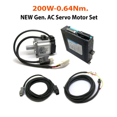 200W-New-Gen-Servo-Set