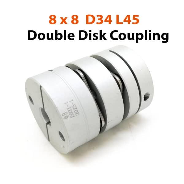 8x8-D34L45-Double-Disk-Coupling
