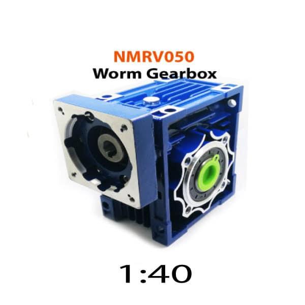 NMRV050-40-80x80-Worm-Gearbox