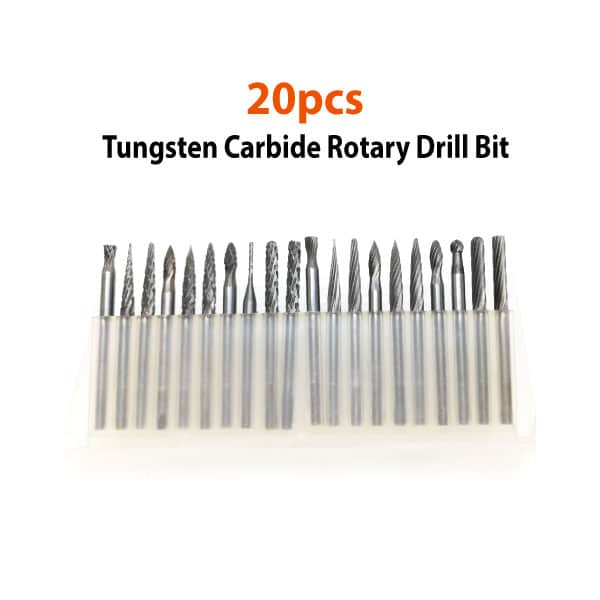 20pcs-Tungsten-Carbide-Rotary-Drill-Bit