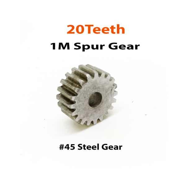 1M-20Teeth-spur-Gear