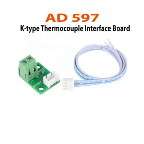 AD597-K-type-Thermocouple-Interface-Board